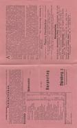 Prospekt-Nürnberg-Bücherzettel.Preisliste - Allemagne