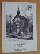 Groeten Uit PUIVELDE / Kapel Van O.L.Vrouw ( Dirk Blommaert St. Pauwels ) Anno 19?? ( Zie Foto Details ) !! - Stekene