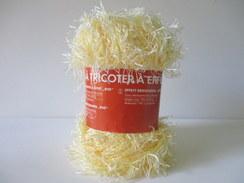 Lot De 2 Pelotes De Fil à Tricoter Effet Rio, 100% Polyester - Wool