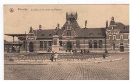 Vilvorde - La Gare Et Le Monument Portaels - Vilvoorde