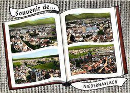 - Bas Rhin -gd Format-ref-V441 - Niederhaslach - Souvenir De - Multi Vues - Edit Lapie - Pas De N° - - Francia