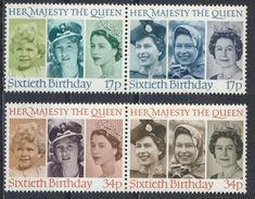 °°° UK ENGLAND - Y&T N°1218/21 - 1986 MNH °°° - 1952-.... (Elizabeth II)