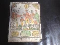 ALMANACH, 1820, LE MESSAGER BOITEUX De Bale En Suisse - Calendriers