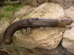 Pistolet  An 9 à Restaurer - Decorative Weapons