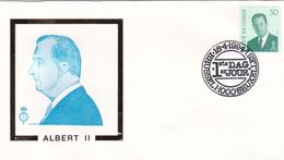 Enveloppe FDC S.M. Le Roi ALBERT II  - Timbre N° 2551 - 1991-00