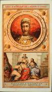 BELLE CHROMO - Edition De La Chocolaterie D'Aiguebelle - Les Rois De France CLOTAIRE II - 584-628 - TBE - Aiguebelle