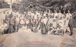62 - Exposition D'Arras 1904 - Ensemble De La Troupe Du Village Sénégalais - Arras