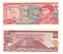 Messico 20 Pesos 1972 - 1977 - Messico
