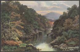 E Longstaffe - Pass Of Killiecrankie, Perthshire, 1906 - Hildesheimer Postcard - Perthshire