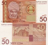 KYRGYZSTAN 50 Som 2016 P 25 UNC - Kirghizistan