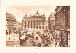 Héliogravure L'Opéra ( Cliché Lader ) - Stiche & Gravuren