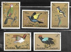 Fujeira 1972 Exotic Golden Birds - Fujeira