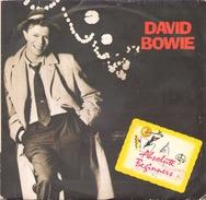 45 TOURS DAVID BOWIE VIRGIN 008387 ABSOLUTE BEGINNERS - Disco, Pop