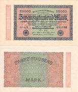 20.000 MARK  - Septembre 1923  -Très Très Bon état - [ 3] 1918-1933 : Weimar Republic