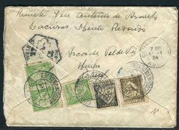 Portugal - Enveloppe De Arcos De Valdevez Pour La France En 1934 - Ref JJ 59 - 1910-... République