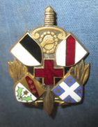 6° S.I.M, émail - Army