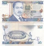 Kenya - 20 Shilings 1996 VF+ Lemberg-Zp - Kenya