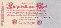 Juillet  1923  -Très Très Bon état - [ 3] 1918-1933: Weimarrepubliek