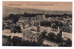 WEISSEMBURG (67) - BLICK AUF DAS JOHANNIS-KIRCHE-VIERTEL - Wissembourg