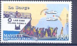 1998. Mayotte, Ship, Tourism, 1v, Mint/** - Stamps