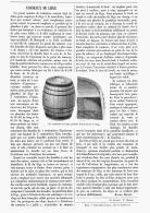LES  TONNEAUX De LIEGE   1903 - Wine