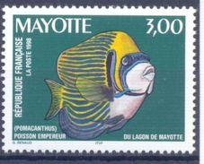 1998. Mayotte, Fish, 1v, Mint/** - Stamps