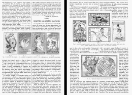 LES VIGNETTES D'ALLUMETTES JAPONAISES    1903 - Tobacco (related)