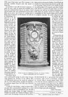 L'HORLOGE De La BIBLIOTHEQUE NATIONALE  1903 - Bijoux & Horlogerie