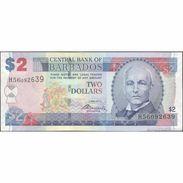 TWN - BARBADOS 66c - 2 Dollars 2.5.2012 Prefix H56 - Signature: Worrell XF/AU - Barbados