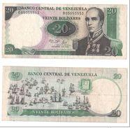 Venezuela 20 Bolivares 1987 - Venezuela