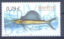 2003. Mayotte, Fish, 1v, Mint/** - Stamps