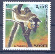 2004. Mayotte, Lemure, 1v, Mint/** - Stamps