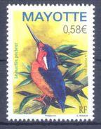 2011. Mayotte, Bird, 1v, Mint/** - Stamps