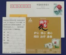 Chinese Medicine Compound Danshen Dripping Pills For Coronary Heart Disease & Thrombus,CN05 Tasly Pharmaceutical PSC - Medizin