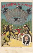 La Course à La Mort - Dompteur Jackson            (A-48-150912) - Circo