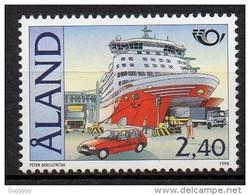 Aland - 1998 - Yvert N° 142 **  - Norden - Aland
