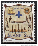Aland - 1998 - Yvert N° 144 **  - Scout - Aland