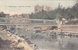 Narbonne - Canal De La Robine Avec Lavandeuses           (A-48-150912) - Narbonne