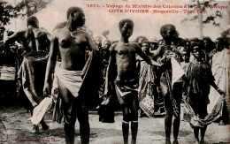 CPA Le Voyage Du Ministre Des Colonies à La Côte D' Afrique , à Bingerville, Tam-Tam Cote D' Ivoire - Elfenbeinküste