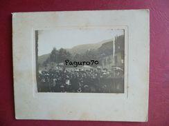 Vecchia Foto Cartonata Costumi Popolari Località Sconosciuta - Foto