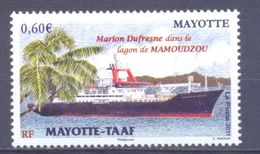 2011. Mayotte, Ship, 1v, Mint/** - Stamps