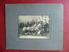 Vecchia Foto Cartonata Costumi Popolari Foto M. Mazzella 1909 Località Sconosciuta - Foto