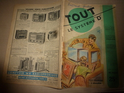 1950 TLSD :(SOMMAIRE 2e Photo) Pour Appareils Ménagers;Aménager MAISON;Campagne-Jardin;Divers;Meubles-Trav Du Bois;etc - Bricolage / Technique