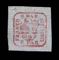 N°9d - 6p Carmin - Papier Vergé - TB - 1858-1880 Moldavia & Principality