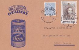 BELGIË/BELGIQUE :1972: Illustrated Cover : ## HELLESENS ## : ENERGIE,BATTERIJ,PILE,BATTERY, TIJGER,TIGRE,Borgerhoutse... - Belgique