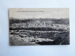 C.P.A. NAMIBIA : Native Village ADJAH BIPPO (G.C.), W. Africa, In 1917 - Namibie