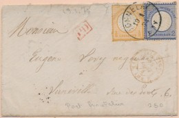 Pli De DONNELAY - 19/1/74 - Afft 2½Gr - Pr Lunéville - B/TB - Postmark Collection (Covers)