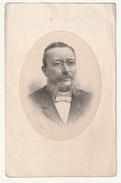 Décès Edmond Marie Désiré BRACQ (Sénateur) époux Maxense Alexandrine Hureaux Gand Gent 1829-1896 Lith Flor. Van Loo - Images Religieuses