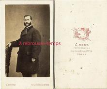CDV  Mode Second Empire-homme-notable Photo L. Bert Rue Jan Reboul à Nîmes - Photographs
