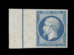 N°15b - Filet D'encadrement - Léger Défaut S/ BDF - Signé Thiaude - Rare - 1853-1860 Napoleon III